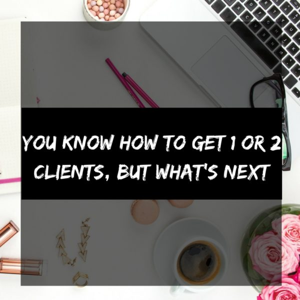 1 or 2 clients